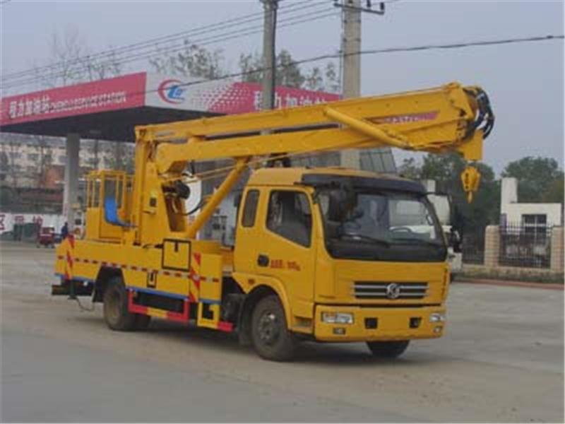 东风多利卡高空作业车18米