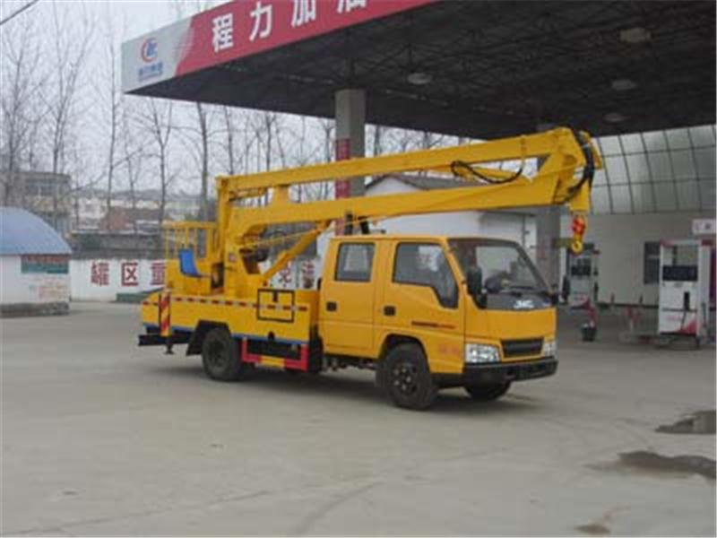 程力威牌CLW5050JGKJ5型高空作业车